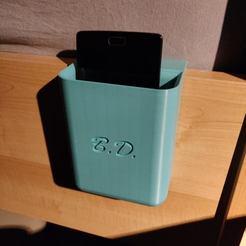 Free stl files Bed phone holder, bryan_dv