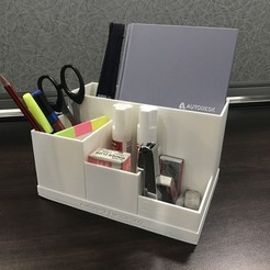 Free STL file Office Desk Organiser, varun