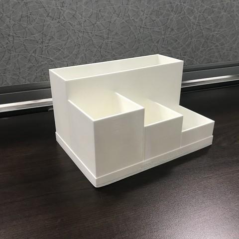 b919bc1d2eae5d583eb7ea2663441e26_display_large.JPG Download free STL file Office Desk Organiser • 3D printer model, varun