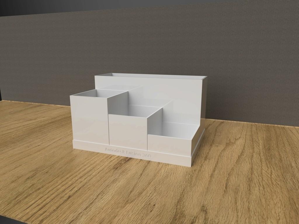b9cd3b4dd86b84f7cee0b411c652c96c_display_large.jpg Download free STL file Office Desk Organiser • 3D printer model, varun
