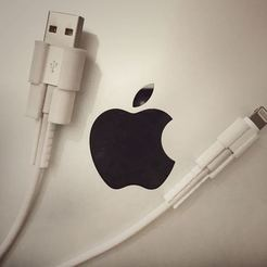 Archivos 3D gratis Protector de cable USB para iPhone, varun