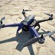 Modèle 3D gratuit Bricolage Garud-500 DIY Drone, varun