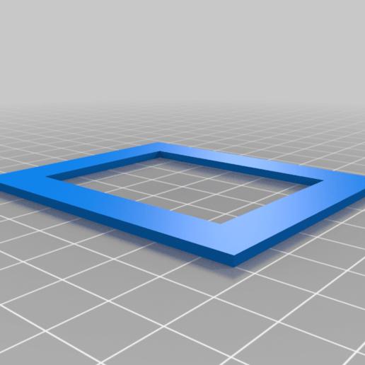 ComsPortHoleTemplate.png Télécharger fichier STL gratuit Port de communication laser K40 • Plan imprimable en 3D, smirnoff01