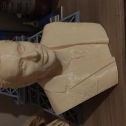 Télécharger fichier imprimante 3D Johnny Hallyday buste, danydabs70