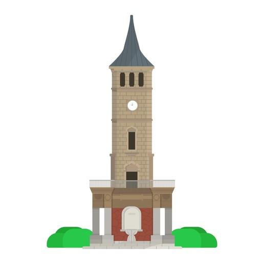 Download 3D-printmodellen klokkentoren Izmit, Sebnemdogru