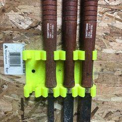 91122007_305803123725006_138806625677869056_n.jpg Download STL file Wood Lathe Tool (gouge) Holder • 3D printing design, collincv