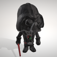 Free 3D model Darth Vader - Lowpoply Collection Figurine - by Objoy, objoycreation