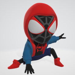 Download 3D printing designs Spider Man - Moral Miles, adam_leformat7