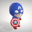 Télécharger fichier imprimante 3D Captain America - LowpolyPOP Collection Figurine, adam_leformat7