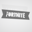 STL file Fortnite LOGO - ACCESSORY FOR SHOE LACE - POPLACE, objoycreation