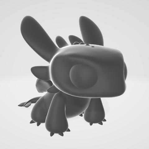 Descargar modelo 3D Chimuelo - Bonita estatuilla, adam_leformat7