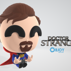 Free 3D printer designs Doctor Strange, objoycreation