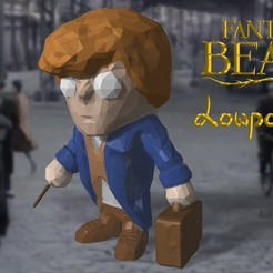 Download 3D printing files Newt Scamander - LowpolyPOP, adam_leformat7