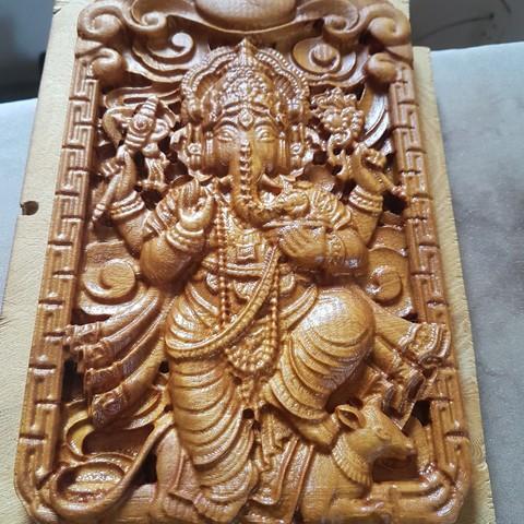 Free 3D printer designs Ganesha, farahluizaugusto