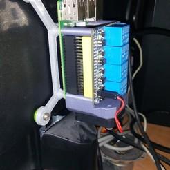 IMG_20200621_085604.jpg Télécharger fichier STL gratuit Framboise Pi 3b vesa 100mm • Modèle pour impression 3D, ZdenekOndracek