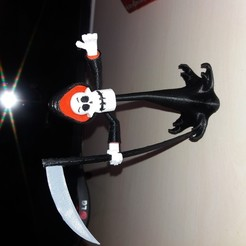 Download free 3D printing files The Grim Adventures of Billy and Mandy, chrisdavelli