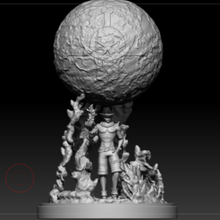 Capture.PNG Download STL file D-Ace One Piece Diorama Completed • 3D printable design, BeeStore-CG