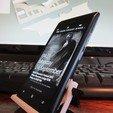 Download free 3D printing models Nokia Lumia 900 Batman stand, roguemat