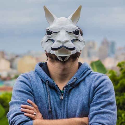 23f89001012a6cdf7c2a60f394a7e749_display_large.jpg Download free STL file Low Poly Llama Mask • 3D print design, roguemat