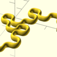 dragon5right.png Download free STL file Dragon curve 5 left • 3D printable design, malinc