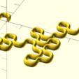 dragon6.png Download free STL file Dragon curve 6 • 3D print template, malinc