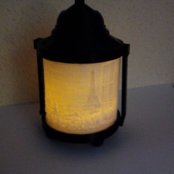 Download STL file ORIGINAL PARIS CANDLE LAMP, contini1976