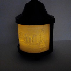 Download STL files NEW YORK ORIGINAL CANDLE LAMP, contini1976