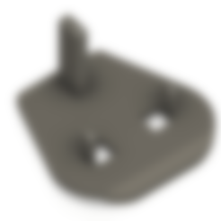 Uk_plug_flat_tough.stl Download free STL file UK to EU plug • 3D printing object, Leluikom