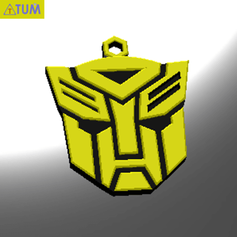 Download free 3D printer model KEYCHAIN Transformers, Tum