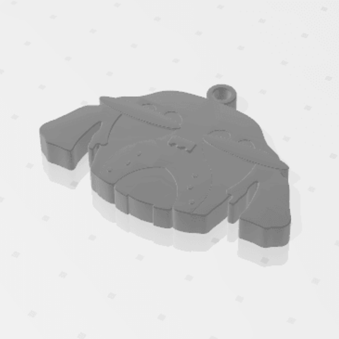 2019-01-13_224028.png Download free STL file KEYCHAIN Mr. Dog  • 3D printable model, Tum