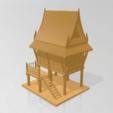 Descargar modelos 3D La vieja casa tailandesa, Tum