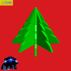 2020-12-17_190704a.png Download STL file The Holly Tree • 3D printable template, Tum