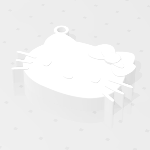 2018-10-06_162533.png Download free STL file KEYCHAIN Kitty • 3D printable template, Tum