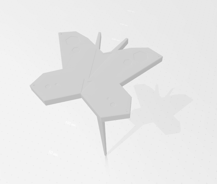 2020-05-03_161900.png Download STL file Butterfly for Garden • 3D print design, Tum