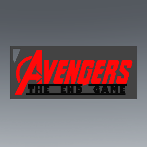 2019-08-03_123222.png Download free STL file KEYCHAIN AVENGERS SYMBOL No.2 (THE END GAME) • 3D printer model, Tum