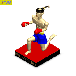 Download STL Muay Thai Doll, Tum