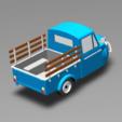 STL TUK TUK 3 WHEEL FROG CAR (IN FARM) , Tum