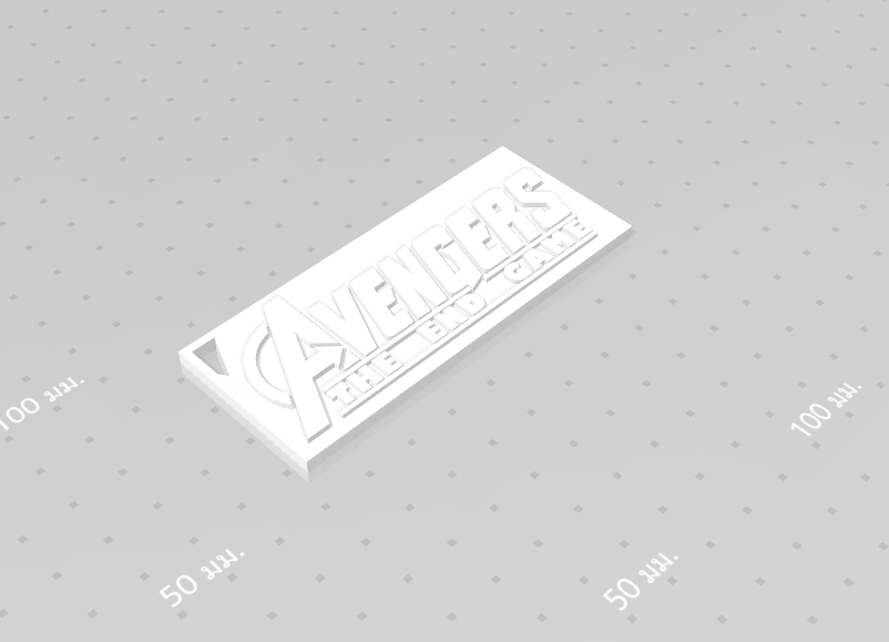 2019-08-03_123454.png Download free STL file KEYCHAIN AVENGERS SYMBOL No.2 (THE END GAME) • 3D printer model, Tum