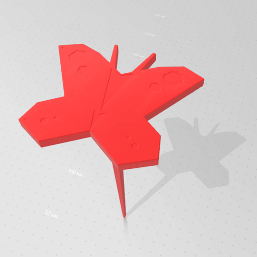 2020-05-03_161648.png Download STL file Butterfly for Garden • 3D print design, Tum