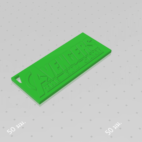 2019-08-03_123541.png Download free STL file KEYCHAIN AVENGERS SYMBOL No.2 (THE END GAME) • 3D printer model, Tum