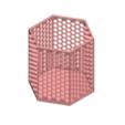 3D printing model 6 BOX HONEYCOMB, Tum