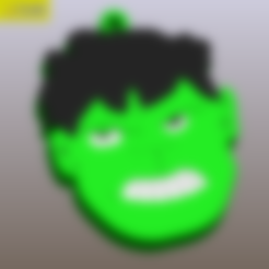 hulk5.STL Télécharger fichier STL gratuit Je suis toujours en colère • Modèle pour imprimante 3D, Tum