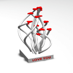 Download 3D printer designs 14 LOVE HEART, Tum