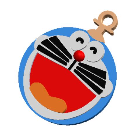 Télécharger fichier imprimante 3D gratuit KEYCHAIN Doraemon, Tum
