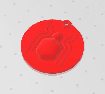 2019-01-14_161300.png Télécharger fichier STL gratuit KEYCHAIN Spidy • Design pour imprimante 3D, Tum