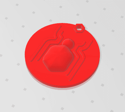 2019-01-14_161300.png Download free STL file KEYCHAIN Spidy • 3D printer model, Tum