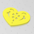 Download free 3D print files Heart Plate Symbol No.14, Tum