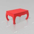 Descargar modelos 3D Mesa Vintage estilo Thai, Tum