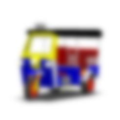 Télécharger fichier STL TUK TUK TUK 3 WHEEL CAR THAILAND N°1, Tum