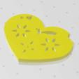Download free 3D printing files Heart Plate Symbol No.3, Tum